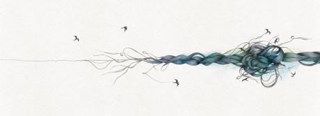 ryan meeking, motherbird, illustration, ss great britain, album, cd, music,