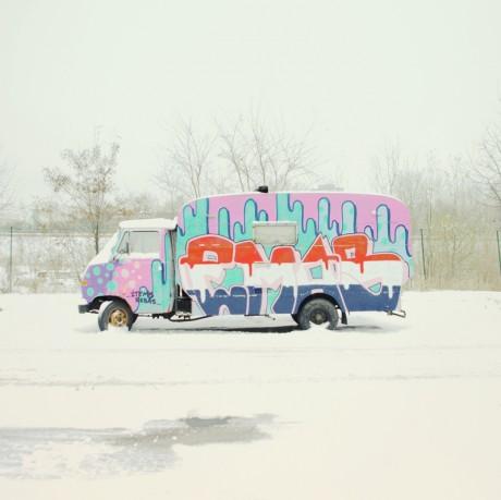 Matthias Heidrich, photography, snow, german, germany, mountain, hills, village, vivid, colour, bright, pastels