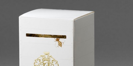 honey, bee, packaging, foil, crest, organic, nature, country