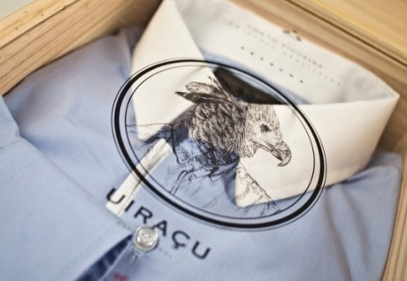 conto figueira, moio coletivo, shirt, packaging, package, branding, identity, illustration, typography, box, premium, clothing, fashion