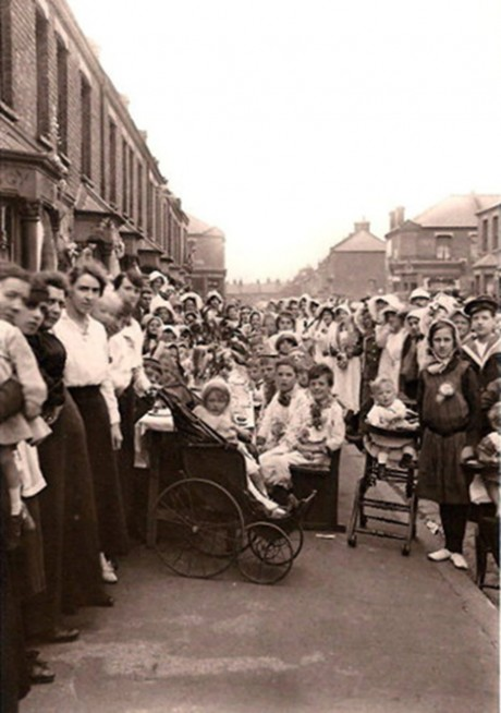 street part, diamond jubilee, old, vintage, through the times, queen, british, traditional