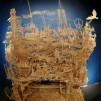 One man, 100,000 toothpicks, and 35 years…