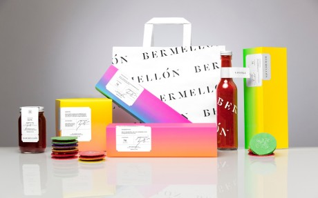 anagrama, Bermellón, branding, identity, logo, colourful, bright, gradient, food, candy, confectionary, sweets