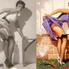 Pin-up Girls: Before & After