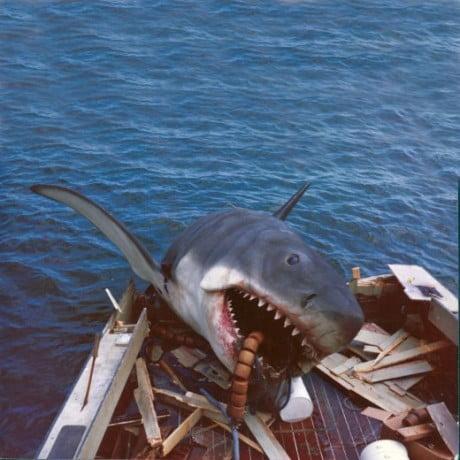 jaws, behind the scenes, martha vineyard, plastic shark, special effects, film, movie