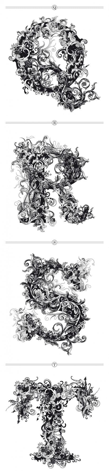 riccardo sabatini, brushwood, typeface, typography, experimental, experimental typography