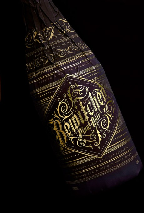 stranger & stranger, Truett Hurst, wine, wine bottle, label, wine label, wine packaging, Safeway