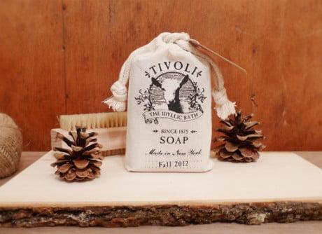 yu ping chuang, tivoli, handmade bath brand, branding, identity, web design, logo. logo design, goat's dairy products, goat product, bi-product, bath soap, soap, handmade soap