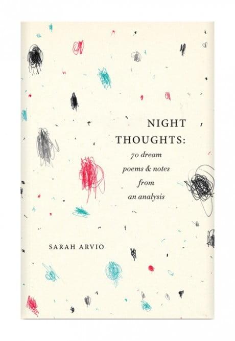 Elena Giavaldi,Knopf, sarah, Arvio, night thoughts, book design, book cover, book cover design
