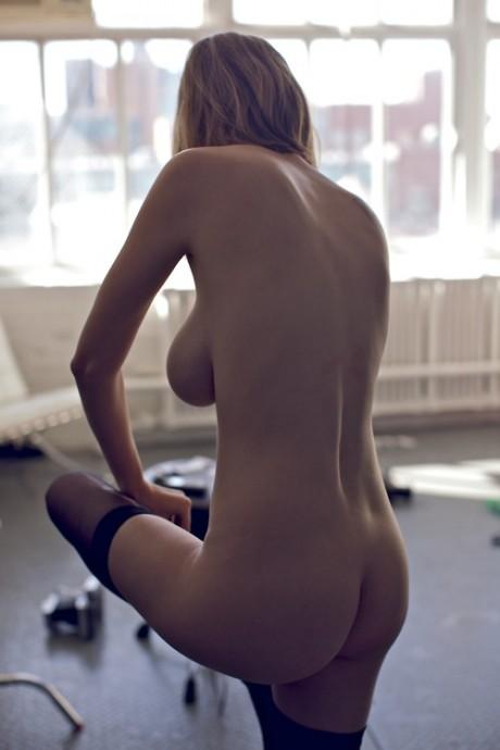 vee laroche, model, naked, nude, breasts