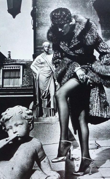 cherubs, cherubm helmut newton, 1976, fashion photography
