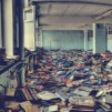 Abandoned Russian Library