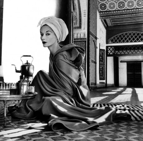 Irving Penn, Marrakesh, Marrakech, photographer, photography, Woman In Moroccan Palace, Lisa Fonssagrives-Penn, model,