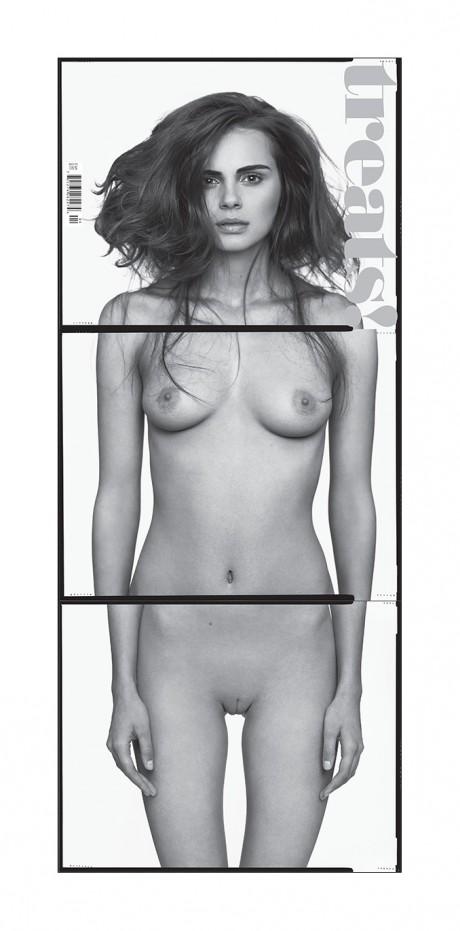 treats, no. 5, issue 5, magazine, magazine cover, nude, gatefold