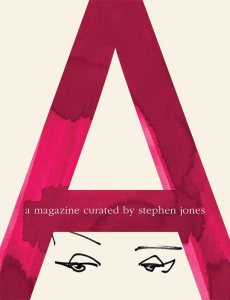 a magazine, magazine, magazine cover, illustration, typography, a, stephen jones
