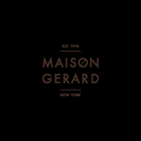 maison gerard, stationary, branding, logo, identity, french furniture, french fine art furniture, mother, new york, united states, business cards, letter head, compliment slip, packaging design, bag,
