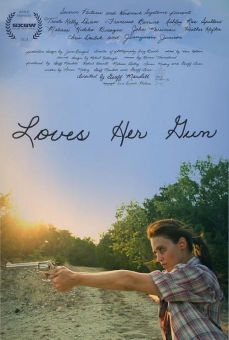 loves her gun, film, film poster, movie poster, geoff masolett