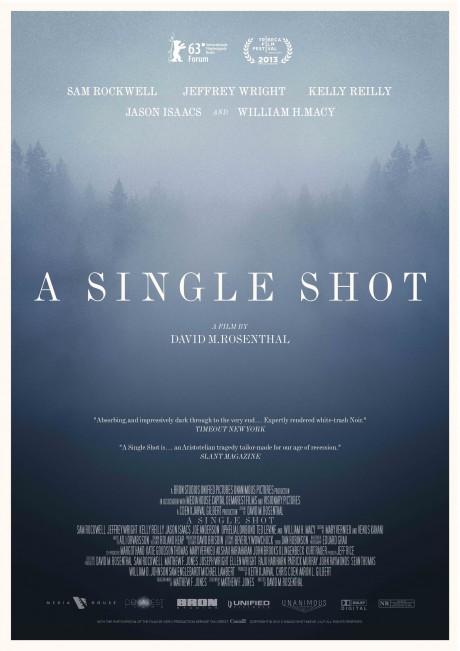 a single shot, film poster, movie poster, david m. rosenthal