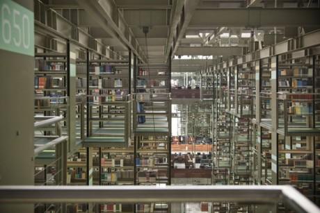 mexico, library, architecture, books, interiors, Biblioteca Pública de México, Mexico Public Library, architect, Taller de Arquitectura X