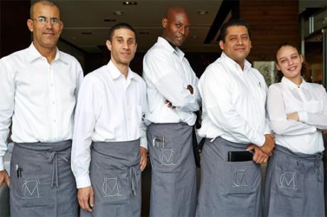 The Original Champions of Design, MC Kitchen, Italian restaurant, Miami Design District, Chef, Dena Marino,  Miami Italian, refined rustic, modern kitchen, branding, design, logo, identity, brand identity