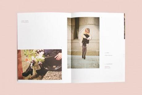 Loeffler Randall, RoAndCo, show brochure, brochure, print,