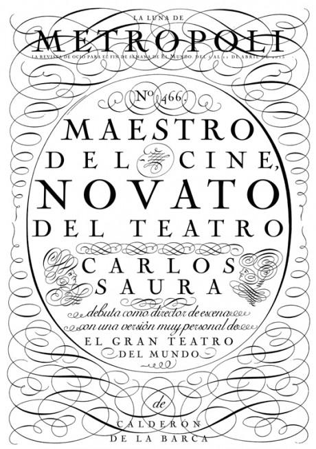 La Luna De Metropoli, magazine, magazine cover, illustration, typography