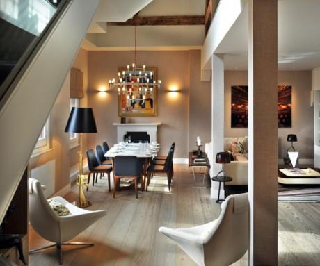 st pancras, st pancras chambers, penthouse, tg-studio, interior, architecture, home, conversion