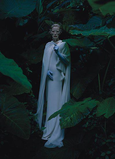 Tilda Swinton, Tim Walker, fashion, photography, photographer, W Magazine, actress,