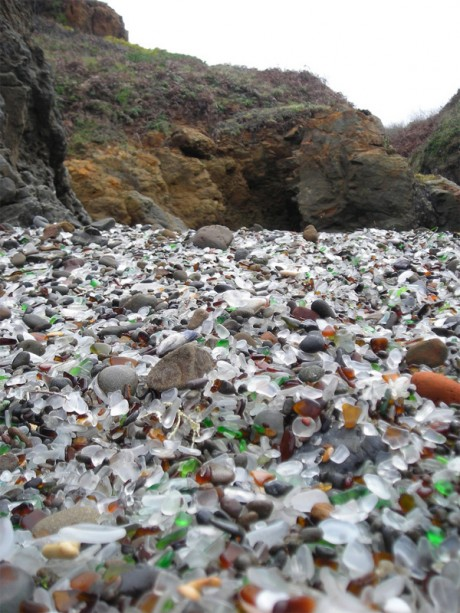 glass beach, northern california, fort bragg, environment, conservation, waste, glass, beach