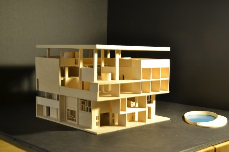 1951-1956, architecture, modernist, Le Corbusier, Villa Shodhan, Ahmedabad, India, Millowner, Surottam Hutheesing, Shyamubhai Shodhan.