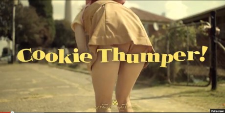 cookie thumper, die antwoord, ninja, south africa music, video, jailbait, provocative, controversial