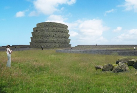 memo, mass extinction memorial observatory, portland, england, uk, portland stone, species, conservation, memorial, architecture, david adjaye, adjaye associates, architect, museum