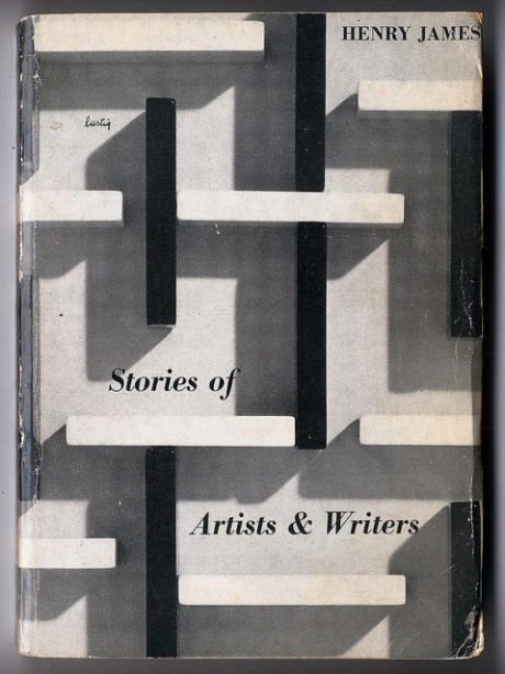Henry James, Stories of Artists & Writers, New Directions, Cover design, Alvin Lustig, book design