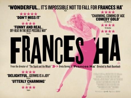 greta gerwig, frances ha, actress, film, film poster, movie poster, retro graphics