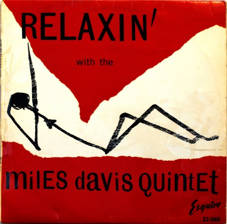 miles davis, miles davis quintet, relaxing, jazz, album cover, record sleeve, album sleeve, music, illustration