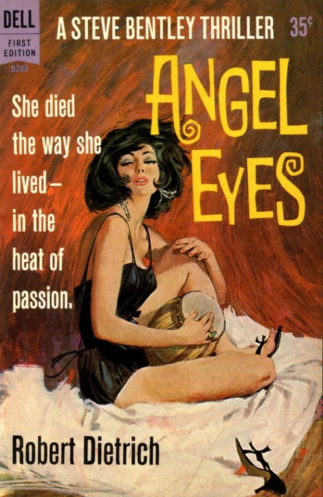 pulp, pulp fiction, retro, book cover, illustration, pin-up, pin up, femme fatale