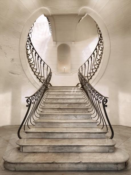 stairs, stairway, marble, interior, architecture, scalano, romano