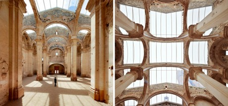 'Church', Ferran Vizoso, architecture, Corbera D'ebre, Tarragona, Spain, restoration, preserve, preservation, derelict church,
