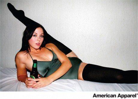 american apparel, advertising, offensive advertising, sexual, tacky, exploitative