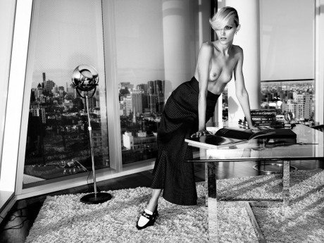 Anja Rubik, model, naked, nude, sexy, editorial, photography, Paola Kudacki, Industrie No.6
