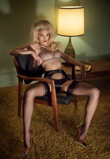 poneystep, magazine, Ponystep #4, Spring 2013, editorial, lingerie, underwear, samantha gradoville, chas ray krider, model, photography, fashion