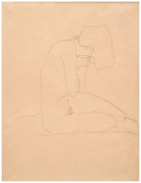 Klimt, Gustav Klimt, sketches, erotic, women, naked, nude, sexual,masturbation,