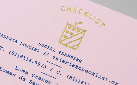 Anagrama, checklist, event planning, milestone occasion, birthday, anniversary, graduation, parties, corporate events, branding, identity, brand identity, logo, stationary, letterhead