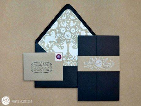 Elizabeth Baddeley, wedding invitation, illustration, spring wedding,