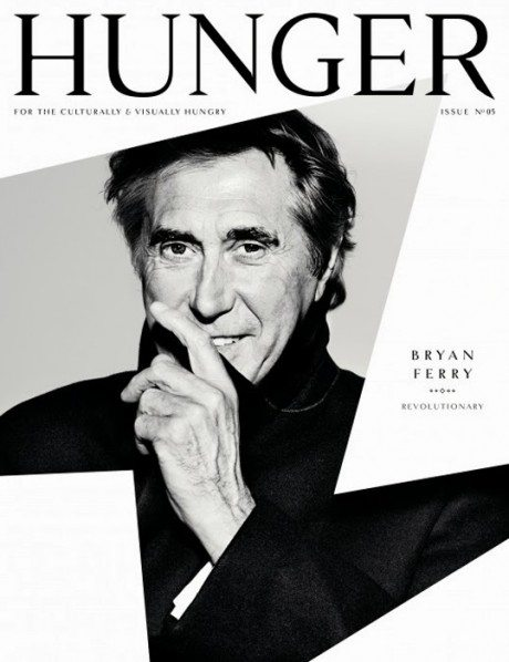 hunger, fashion, lifestyle, design, cover, magazine cover, typography, graphic design