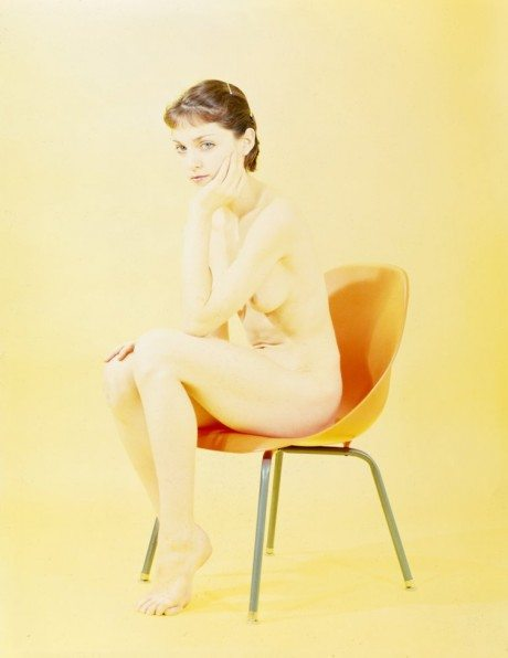 madonna, 35mm slide, unpublished, photography, nude, naked, pubic hair, portrait, music, pop star, icon