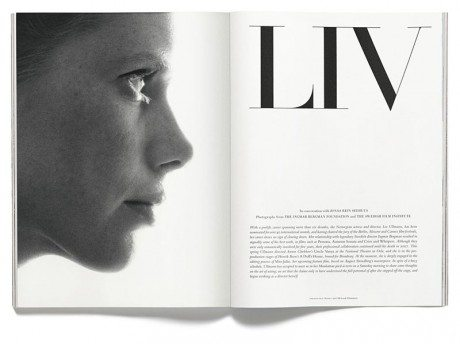 Isabelle Huppert, Greta Garbo, fashion, lifestyle, magazine, magazine cover, Andreas Larsson, photographer, typography, layout, acne, issue no. 15, the actresses, the actresses issue
