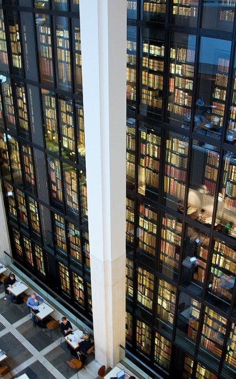 The King's Library, British Library, St Pancras, London, Chris John Beckett , photography, books, interiors, library