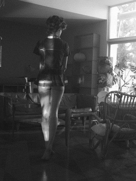 Sigurd Grünberger, model, fashion, editorial, erotic, Odiseo, Magazine, Autumn, 2013, naked, nude, curvy
