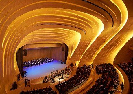 Zaha Hadid Architects, Heydar Aliyev Centre, Baku, Azerbaijan, architecture, zaha hadid, cultural centre, museum, interiors